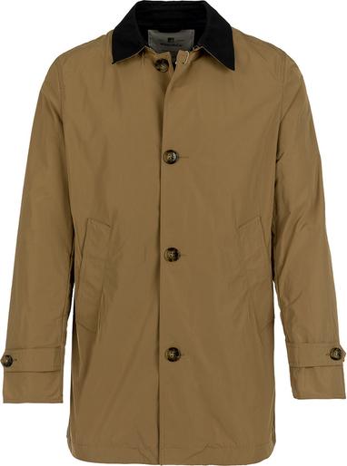 Brązowa kurtka Woolrich w stylu casual
