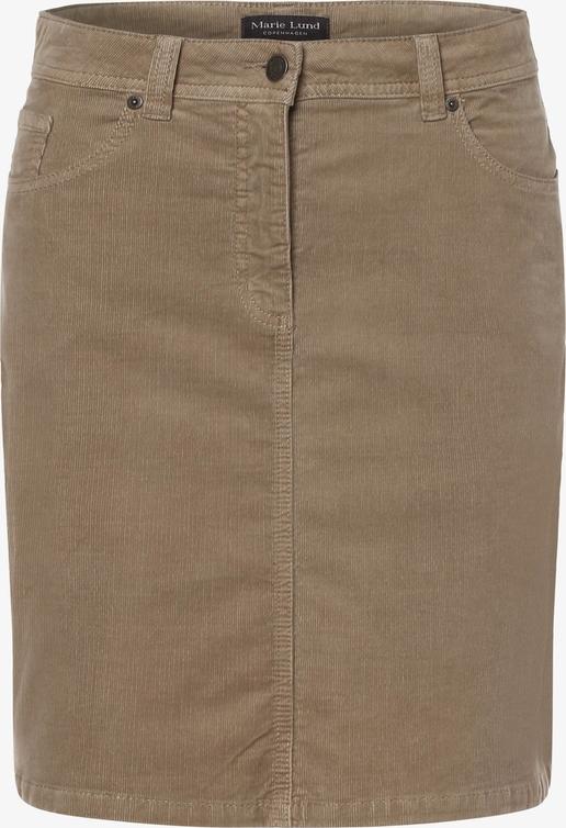 Brązowa spódnica Marie Lund mini w stylu casual