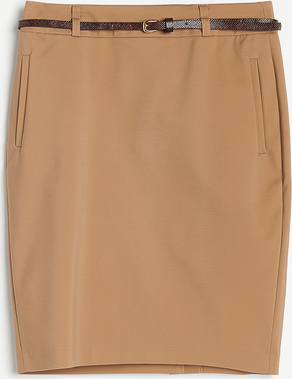 Brązowa spódnica Reserved