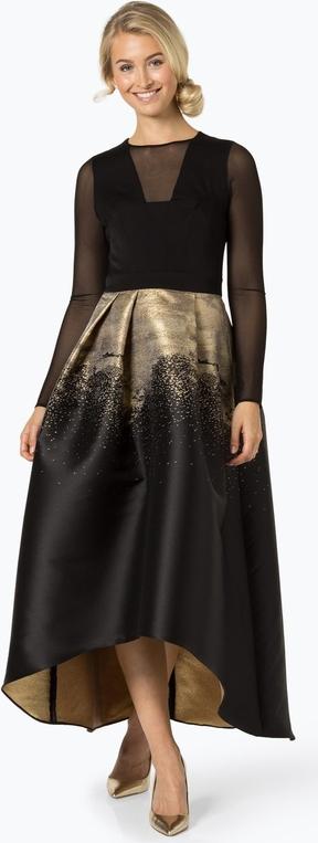 Brązowa sukienka Coast maxi asymetryczna