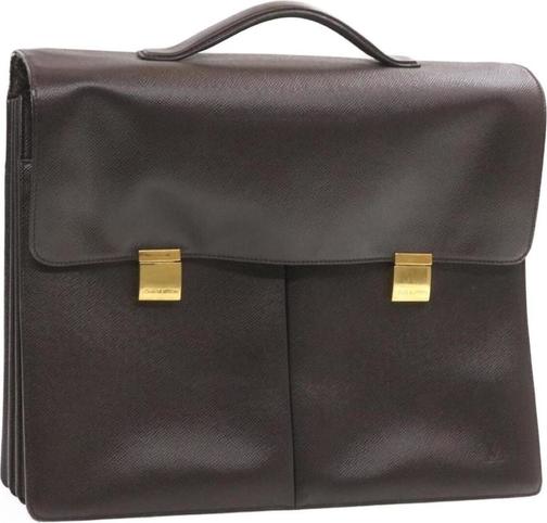 Brązowa torba Louis Vuitton ze skóry
