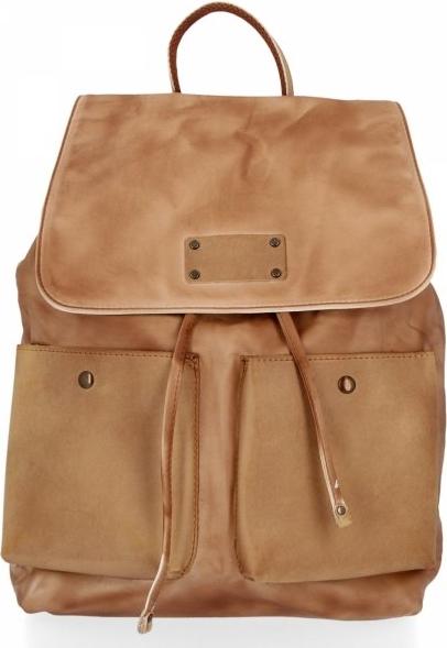 Brązowa torebka Diana&Co ze skóry ekologicznej duża na ramię