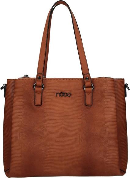 Brązowa torebka NOBO matowa na ramię