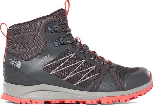 Brązowe buty trekkingowe The North Face z goretexu sznurowane Buty Damskie Buty trekkingowe VB BHHMVB-4 Stała usługa