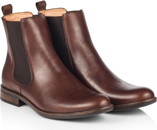 Brązowe buty zimowe Dastan