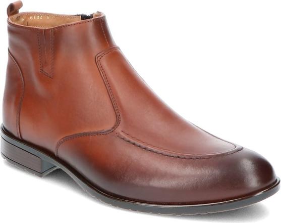 Brązowe buty zimowe Iguana Lider