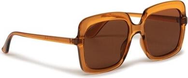 Brązowe okulary damskie Acccessories