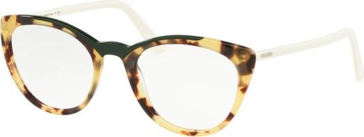 Brązowe okulary damskie Prada Eyewear Akcesoria Damskie Okulary damskie RA PQDVRA-3 dobry