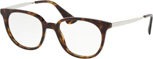 30% OBNIŻONE Brązowe okulary damskie Prada Eyewear Akcesoria Damskie Okulary damskie PK UBXXPK-3