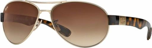 ekonomiczny Brązowe okulary damskie Ray-Ban Akcesoria Damskie Okulary damskie WQ OAWHWQ-3