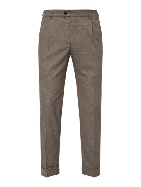 Brązowe spodnie Drykorn