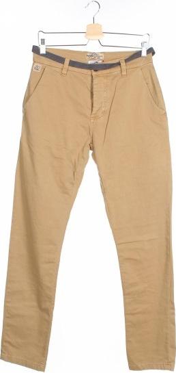 Brązowe spodnie Japan Rags By Le Temps Des Cerises