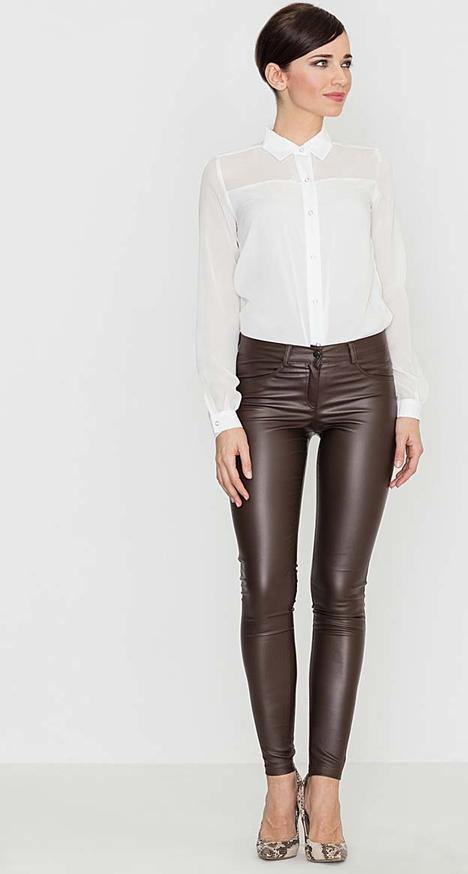 Brązowe spodnie Katrus