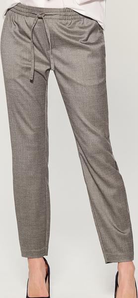 Brązowe spodnie Mohito w stylu casual