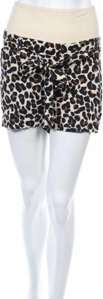 Brązowe szorty H&M w stylu casual