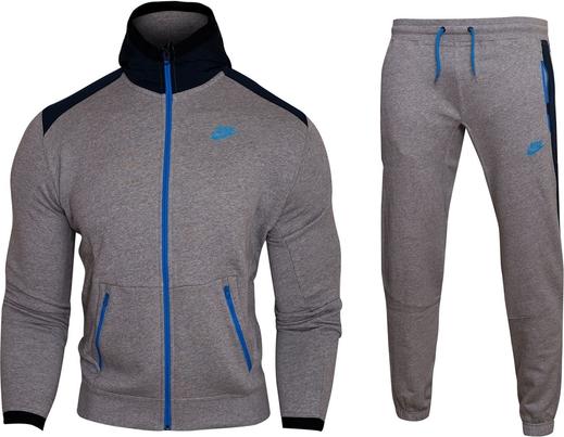 Brązowy dres Nike z bawełny