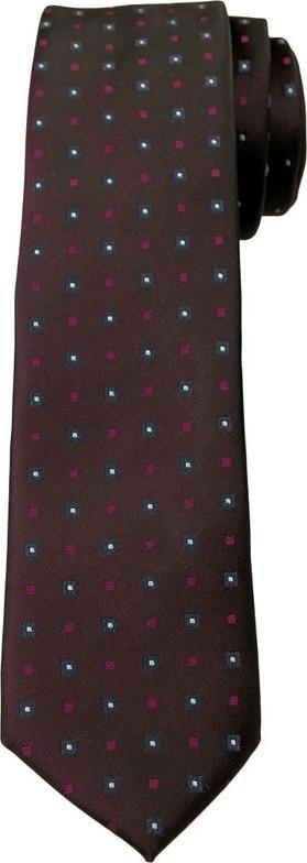 Brązowy krawat Angelo Di Monti