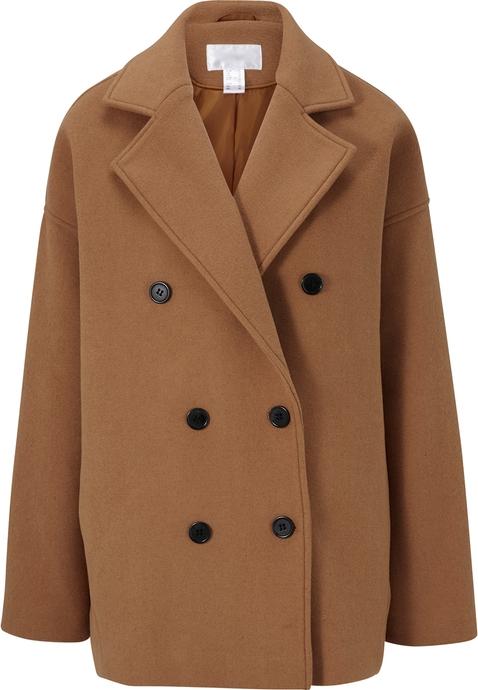 Brązowy płaszcz Heine w stylu casual
