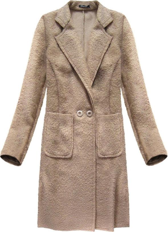 Brązowy płaszcz Made in Italy