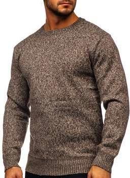 Brązowy sweter Denley