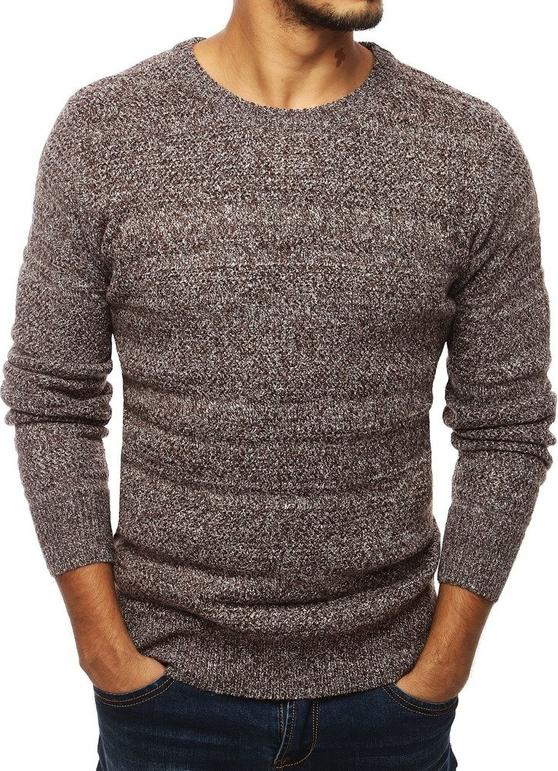 Brązowy sweter Dstreet