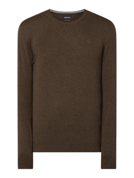 Brązowy sweter McNeal w stylu casual