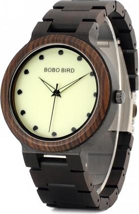 Brązowy zegarek geekthink