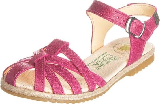 Buty dziecięce letnie El Naturalista ze skóry