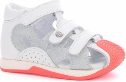 Buty dziecięce letnie Wojas ze skóry na rzepy
