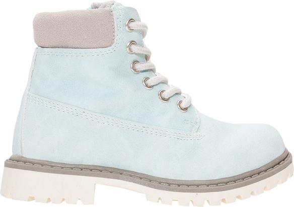 17c90e49b Turkusowe buty dziecięce zimowe 4f junior dla dziewczynek