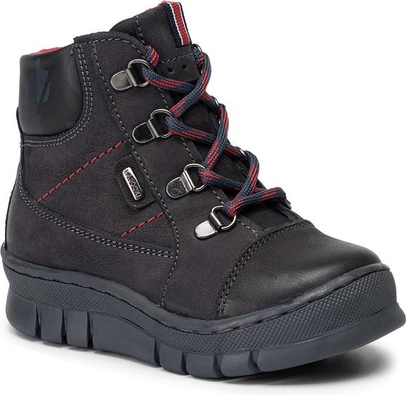 Buty dziecięce zimowe Lasocki Kids sznurowane