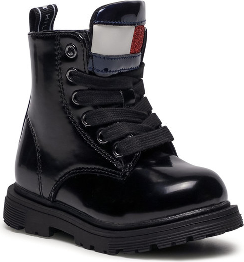 Buty dziecięce zimowe Tommy Hilfiger dla dziewczynek