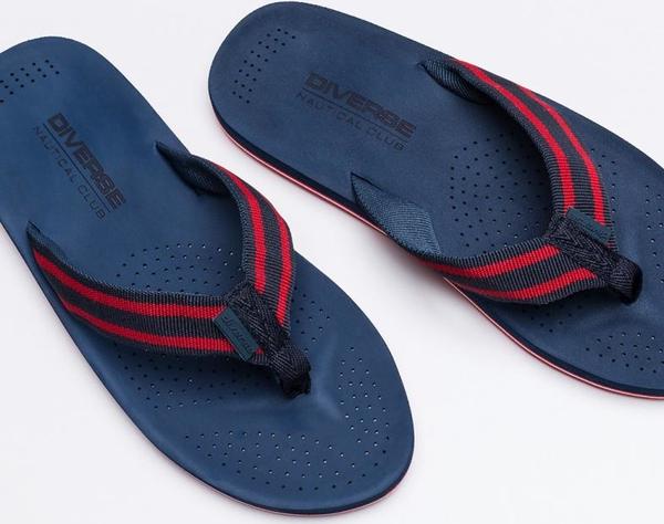 49b76f780404e Granatowe buty letnie męskie diverse