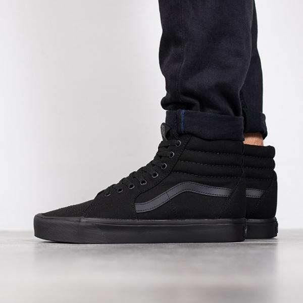 Vans Sk8 Hi sneakers in black vd5ib8c Czarne Sneakersy
