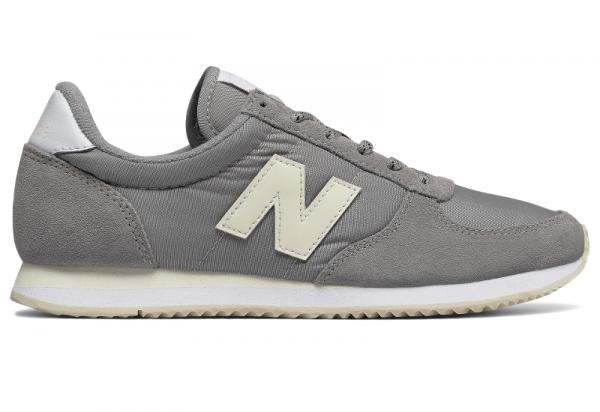 Buty New Balance z płaską podeszwą w sportowym stylu z zamszu