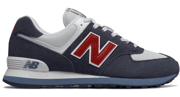 Buty New Balance z zamszu w sportowym stylu