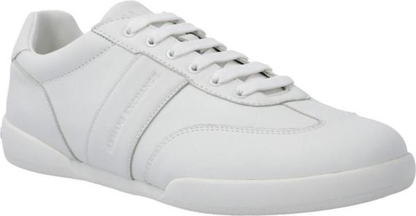 Buty sportowe Armani Jeans ze skóry