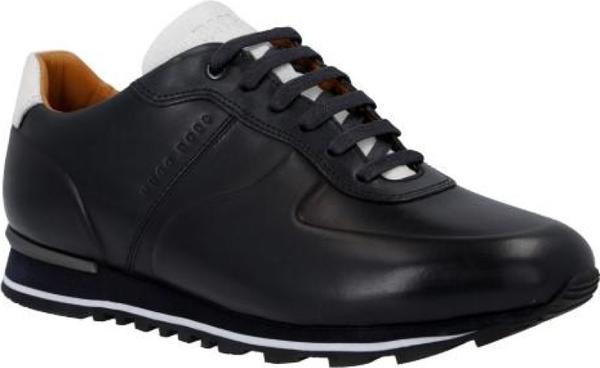 Buty sportowe Boss sznurowane ze skóry