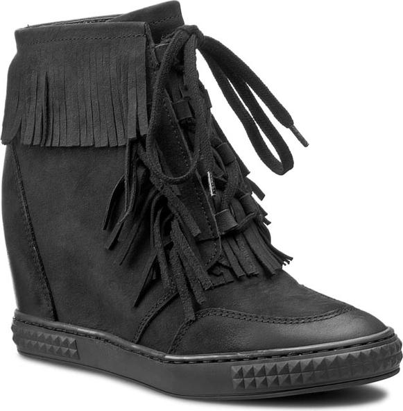 Buty sportowe Carinii sznurowane w sportowym stylu
