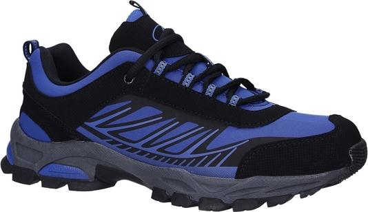 Buty sportowe Casu ze skóry ekologicznej sznurowane