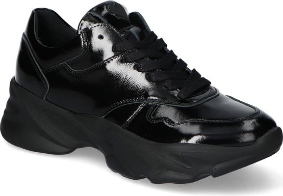 Buty sportowe CheBello ze skóry w sportowym stylu