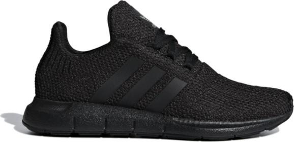 Buty sportowe dziecięce Adidas z dzianiny sznurowane w paseczki