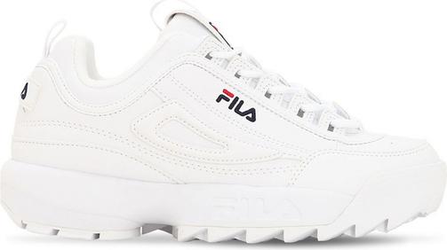 Buty sportowe dziecięce Fila sznurowane