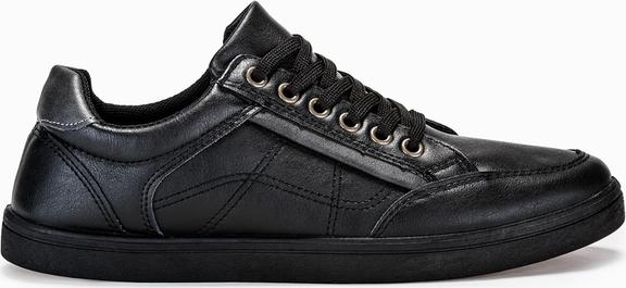 Buty sportowe Edoti sznurowane w młodzieżowym stylu