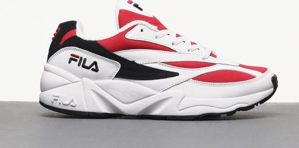 Buty sportowe Fila ze skóry w młodzieżowym stylu sznurowane