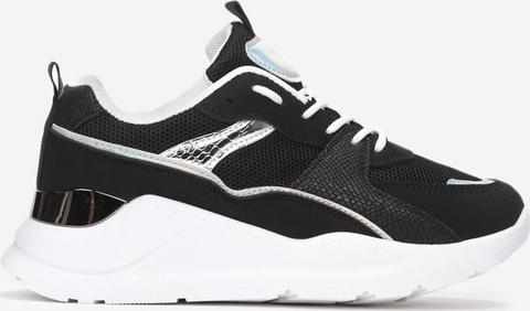 Buty sportowe Multu sznurowane na platformie