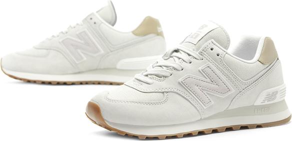 Buty sportowe New Balance na koturnie w sportowym stylu
