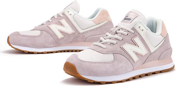 Buty sportowe New Balance sznurowane ze skóry