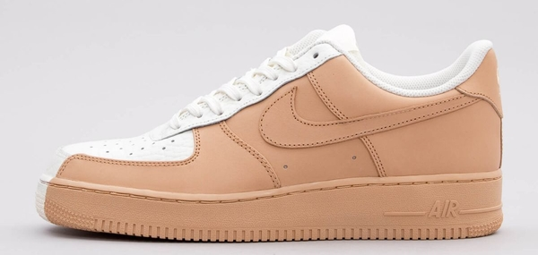 71cc7b4c22aa3b Brązowe buty sportowe nike w sportowym stylu na platformie sznurowane