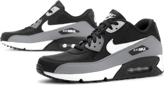 Buty sportowe Nike sznurowane ze skóry air max 90